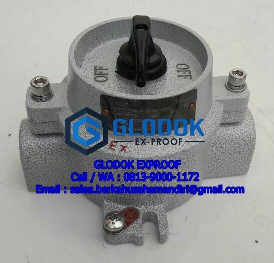 BZM-10 Selector Switch Explosion Proof