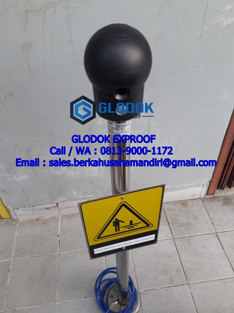 Grounding System Explosion Proof
